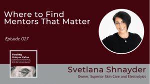 Unique Value podcast Svetlana